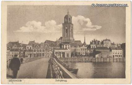 Deventer, Schipbrug