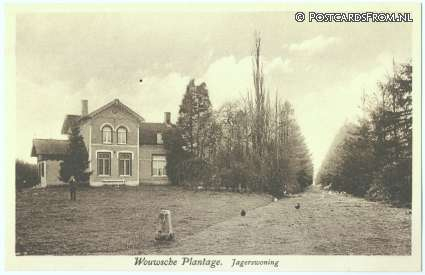 Wouwse Plantage, Jagerswoning