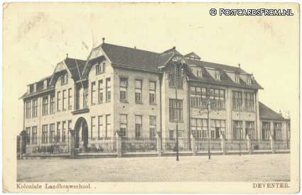 Deventer, Koloniale Landbouwschool