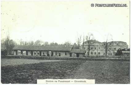 Groesbeek, Station en Pensionaat